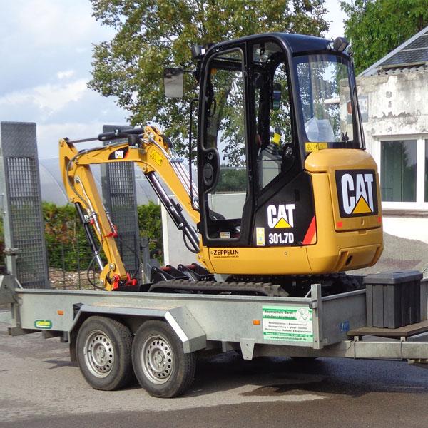 Bagger CAT 301.7 D