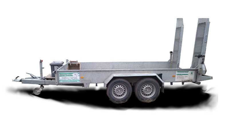 Anhänger für Baumaschinen 3,5 t